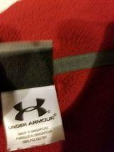 Under Armour Red Fleece Jacket Half Zip Long Sleeve Mens Size XL Extra Large UA  image 11