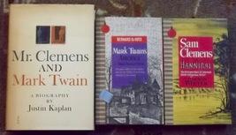 3 books Mr. Clemens and Mark Twain, Mark Twain's America, Sam Clemens Ha... - $7.50