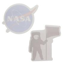 UNITED STATES NASA BUZZ ALDRIN STICKY NOTE PAD 2 PACK ASTRONAUT NASA LOG... - $11.83