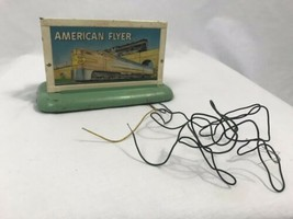 Vintage American Flyer A.C. Gilbert Co. 1950 Light Up Train Sign - $37.99