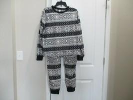 Brand new Old Navy women's 2pc fleece sleepwear set, Size L, Polyester - $19.79