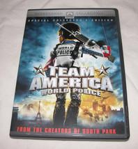 Team America DVD, 2005, Widescreen Collection /Rated, Juan Schwartz, Tre... - $13.69
