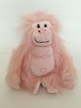 "Ganz WEBKINZ pink GLAMOROUS GORILLA 8"" NO CODE plush stuffed animal toy - $7.69"