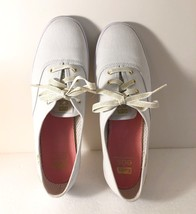 Exclusive KEDS EOS White Canvas Champion Golden Women's US 8.5 UK 6.0 EU... - $52.48 CAD