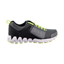Reebok Zig Kick 2018 Big Kids Shoes Alloy-Black-Neon Lime CN7759 - $49.95