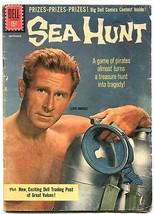 Sea Hunt #10 1961- Silver Age Dell comic- Lloyd Bridges VG- - $40.35
