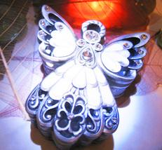 Haunted free w $100 QUARTZ CRYSTAL SERAPHIM ANGEL CHARGING CHEST MAGICK Cassia4  - Freebie