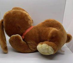 "Sunburst Pets 1983 Vintage Plush Brown Dog Commonwealth Vtg Stuffed Animal 13"" image 12"