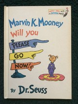 Marvin K. Mooney Will You Please Go Now! by Dr. Seuss Hardcover - $18.95