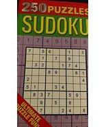 250 Sudoku Puzzles Ultimate Puzzle Fun [Paperback] Anne Moreland - $10.84