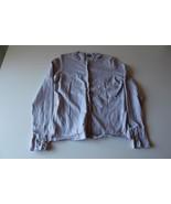 W13243 Womens ANN TAYLOR Lavender Purple Pearl Button CARDIGAN SWEATER S... - $18.32