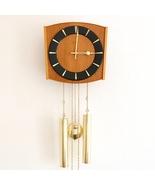 JUNGHANS Vintage Wall Clock LOUDSPEAKER! Chime SPECIALTY 1960s Germany S... - $625.00