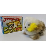 Vintage 1960'S (OKA, Japan) Wind-up Soft Fur Covered JUMPING DOG Toy in ... - $30.00
