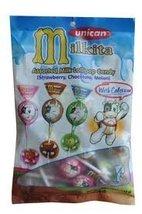 Unican Milkita Assorted Milk Lollipop 15 pcs 6.... - $7.99