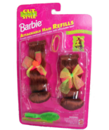 1994 Barbie Attachable Hair Refills - Auburn Mint in Package - $8.95