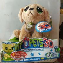 My E Pets 3D Tan Dog - $28.01