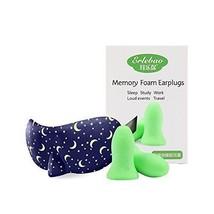 HaloVa Sleep Mask with Ear Plugs and Earplugs Combo Set Unisex Eye for o... - $20.00 CAD