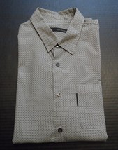 Calvin Klein Jeans Dress Shirt Size Large Long Sleeved Career Button Down  - $18.60