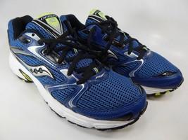 Saucony Oasis 2 Size 7.5 M (D) EU 40.5 Men's Running Shoes Blue Silver S25209-6