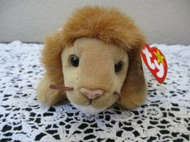 Ty Beanie Baby Roary 1996 5th Generation 2 Hang Tag Errors Misprints - $49.49