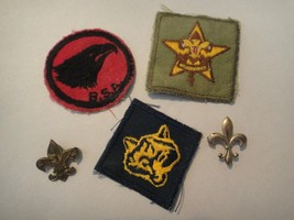Vintage Boy Scouts of America Patches and Pins 5 pcs. - $9.85