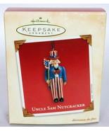 Hallmark Keepsake Christmas Ornament Uncle Sam Nutcracker - $11.04
