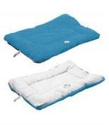 Eco-Paw Reversible Eco-Friendly Pet Bed - Blue And Aqua - $22.95