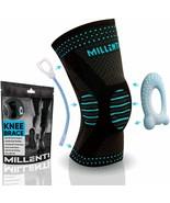 Millenti Knee Brace Compression Sleeve - Side Stabilizers & Patella Gel ... - $12.71