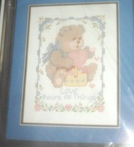 Love Bears All Things Sampler by Tulip Colorpoint Paintstitching  Bucilla 63856 - $19.99