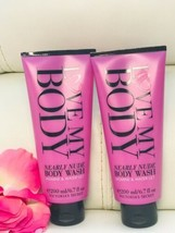 2 New Victoria's Secret Love My Body Wash Nearly Nude Jasmine & Water Lily - $27.62