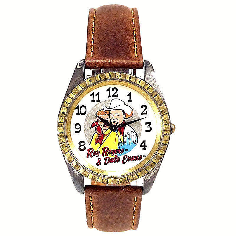 Roy Rogers, Dale Evans, Fossil Unworn Collectible Watch, Number XXX/15K Only $65