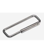 Hillman Split/Cable Ring KEY CHAIN 2 pk Metal Silver Rust-Resistant 7012... - $6.59