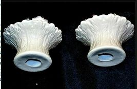 Pair of Vintage floral Candle Holders AA19-1428 image 3