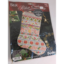 BUCILLA SILK RIBBON EMBROIDERY BAND SAMPLER 83309 NWT - $29.69