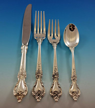 Delacourt by Lunt Sterling Silver Flatware Set for 12 Service 54 pieces - $3,350.00