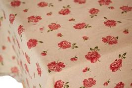 [Rose]57'' Wide Handmade Curtain/Tablecloth/Bedding Linen Fabric (1957 Inch)