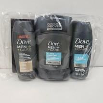 Dove Men + Care Travel Pack Deodorant / Shampoo / Body & Face Wash New i... - $1.99
