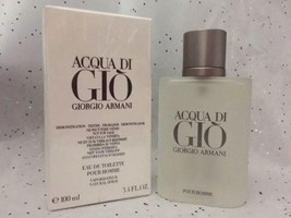 Acqua Di Gio 3.4 Oz. Men SPRAY EDT COLOGNE **NEW IN BOX** GIORGIO ARMANI - $95.00