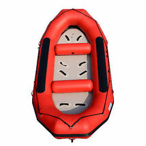 BRIS 13ft Inflatable River Raft 6 Person White Water Rescue Raft FloatingTubes image 6