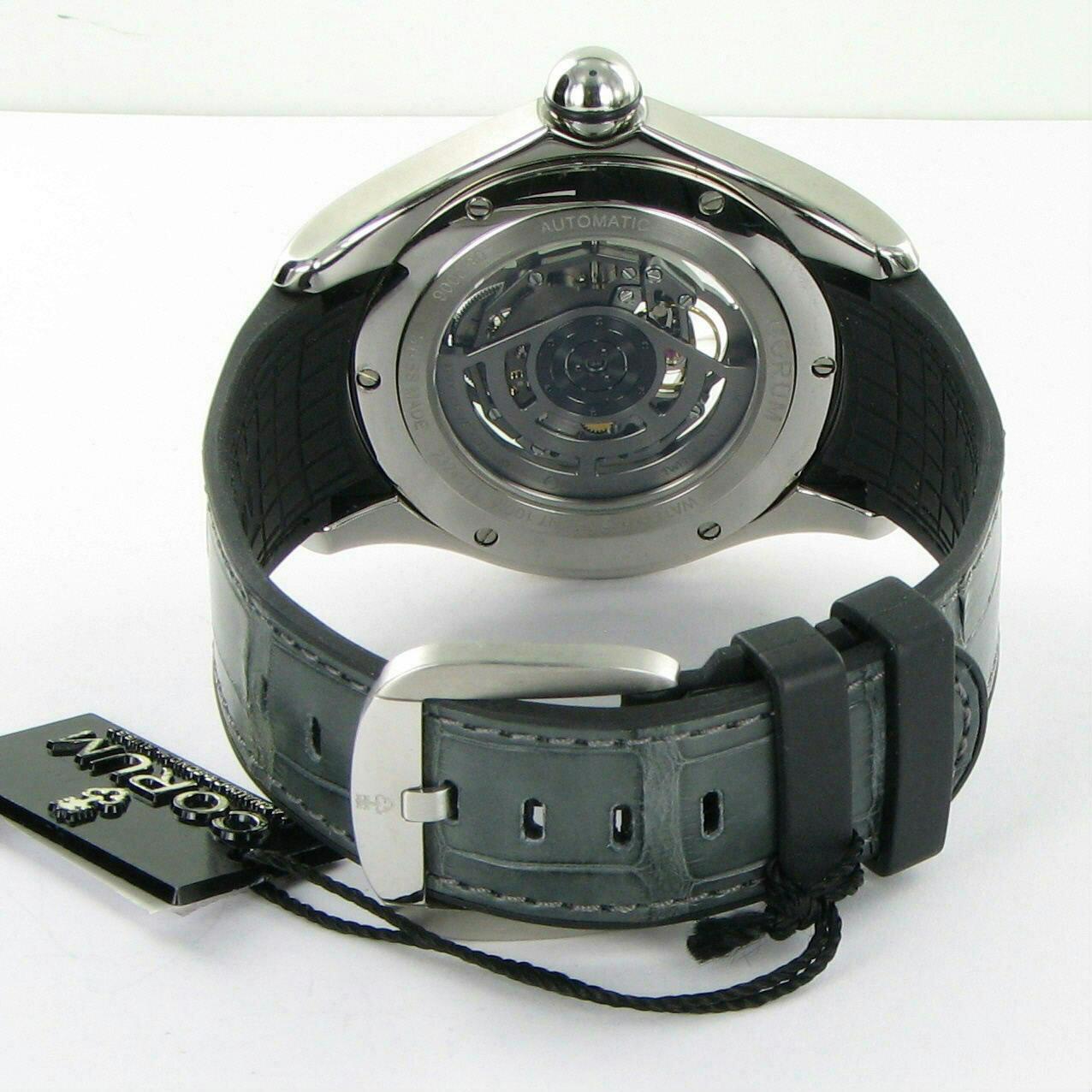 Corum Bubble Squelette Skeleton Automatic L082/02595 47mm Watch NWT $8300