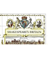 Shakespeare's Britain (Poster Map of Britain 19 x 25) - $5.00