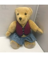 1994 VTG Pleasant Company American Girl Vest Skirt Bear Plush Stuffed An... - $129.99
