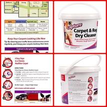 Carpet Dry Cleaner Powder 4 Pound Resolve Allergens Stain Smell Moisture... - $23.84