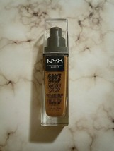 1 NYX Can't Stop Won't Stop Full Coverage Foundation - CSWSF17 Cappuccino - $11.76