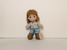 Ricky Precious Moments Cloth Doll 54120 Your future is bright 1989 - $9.45