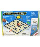 Maze-N-Race Racing Build Design Children Kids Toy Game Rare Battery Oper... - $28.04