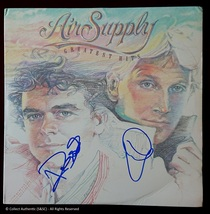 Graham Russell & Russell Hitchcock Autographed Air Supply Record Album - $130.00