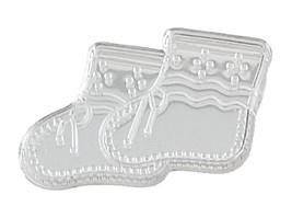 Booties Acrylic Charm-Clear - $9.85