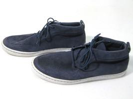NIKE Blue WARDOUR CHUKKA Mens Suede Leather Fashion Sneaker Shoes (Size ... - £37.03 GBP