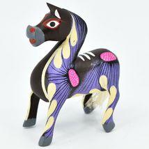 Handmade Alebrijes Oaxacan Copal Wood Carving Painted Folk Art Horse Figurine image 3